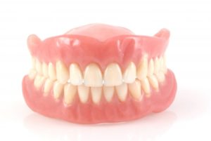 A pair of dentures.