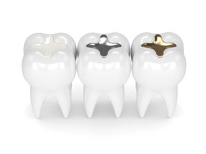 Animated different colored fillings